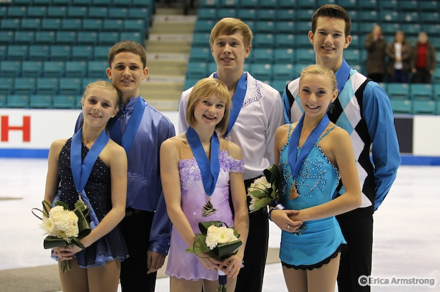 Novice Pair Medalists