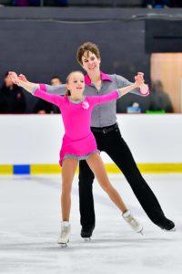 Pairs skaters BrookeMcIntosh & Brandon Toste