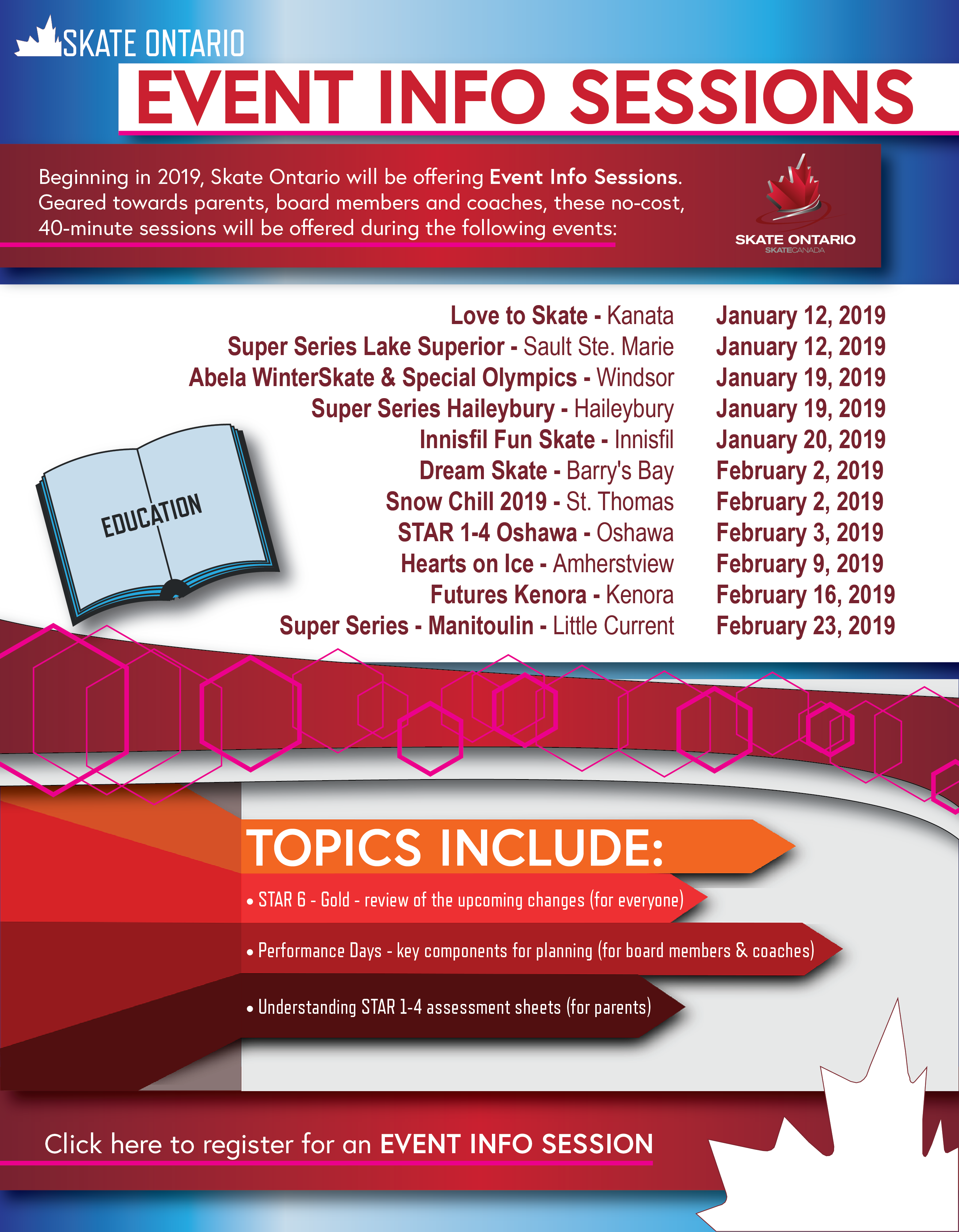 Event Info Sessions