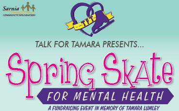 Sarnia Community Foundation TFT – Skate for Mental Health