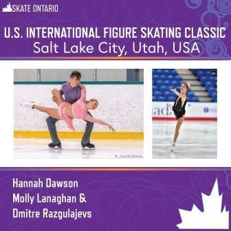 Skate Ontario Athletes Heading to Salt Lake City for Challenger Series