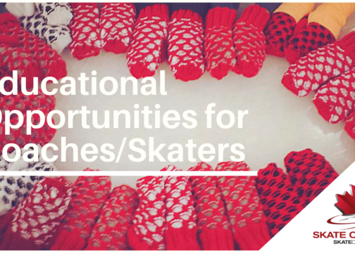 Online Educational Opportunities for Coaches/Skaters