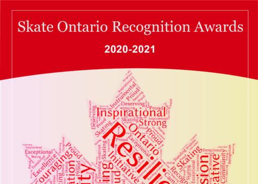 Skate Ontario Recognition Awards 2020-2021