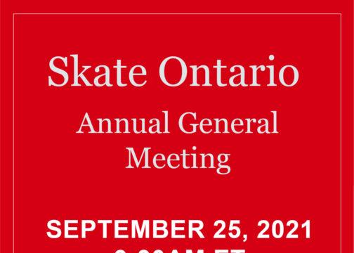 Skate Ontario AGM – Audit Review Webinar