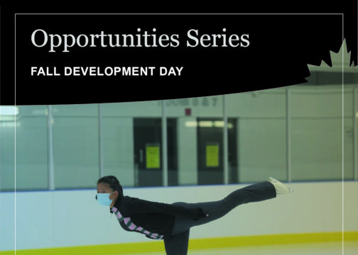Opportunities Series – *New dates added*